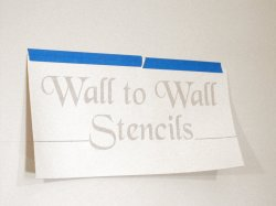 Position your stencils