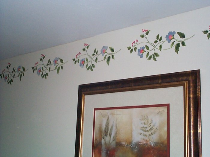 borders for walls living room emily s fancyliving room border walltowallstencils 19980