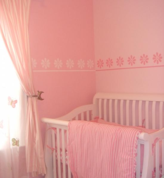Decorare la cameretta dei bambini con lo stencil - Tecnica per decorare pareti ...