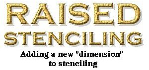 Raised Stencling