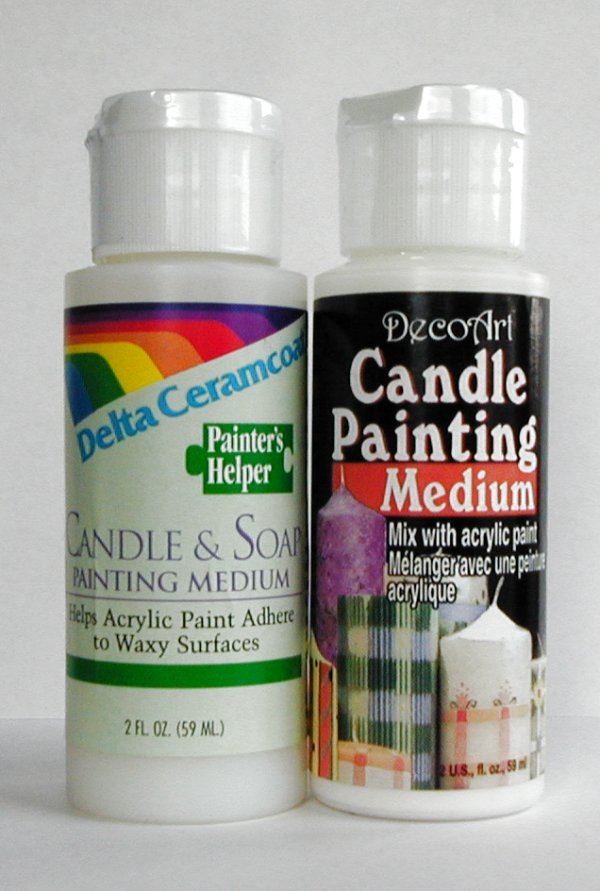 Can You Paint A Candle With Acrylic Paint