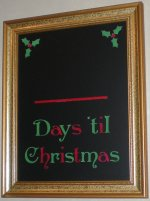 Days Til Christmas - example