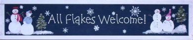 All Flakes Welcome Project Board