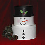 Snowman Shaker Boxes - example